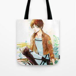 Blue Melody Tote Bag