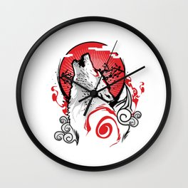 Goddess of the Sun Wall Clock