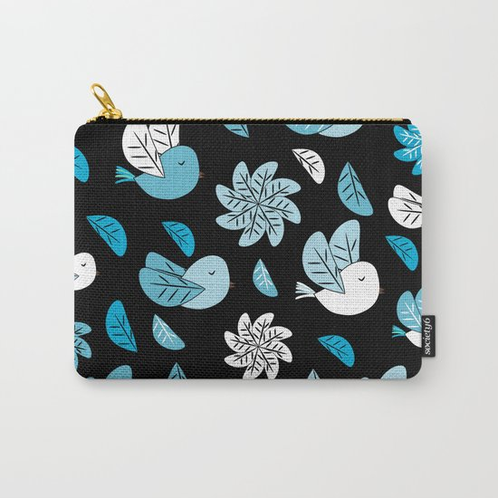 Birds at night Carry-All Pouch