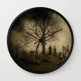 Unsettling Fog Wall Clock