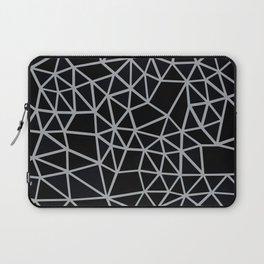 Segment Grey and Black Laptop Sleeve
