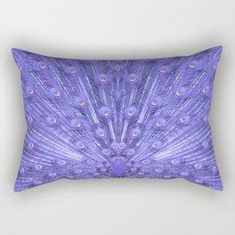 Peacock's feather-violet Rectangular Pillow