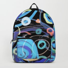 round and round and round #2 Backpack