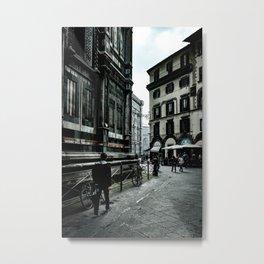 Piazza del Duomo (Florence) Metal Print