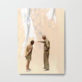Watching Paint Dry Metal Print
