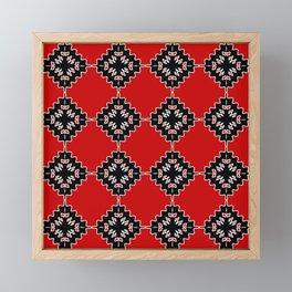 Native ethnic pattern Framed Mini Art Print