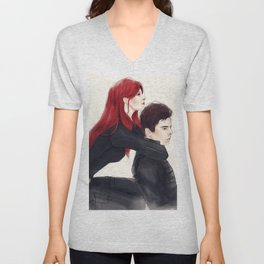 Winter Widow Unisex V-Neck