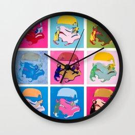 Stormtrooper  © Tony Leone - Art Wars series Wall Clock