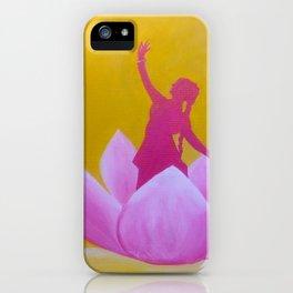 Lotus Kathak Dancer iPhone Case