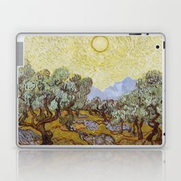 Vincent van Gogh - Olive Trees with Yellow Sky and Sun Laptop & iPad Skin