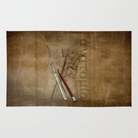 anatomy Area & Throw Rugs featuring Anatomy by ArtAngelo