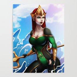 Queen Mera Poster
