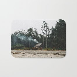 Just A Little cabin in the woods Bath Mat