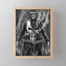 The punisher. Framed Mini Art Print