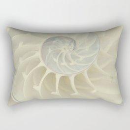 Nautilus Shell Rectangular Pillow
