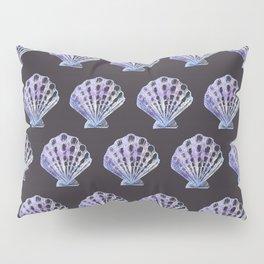 Mermaid Off Duty - Purple Seashell Pillow Sham