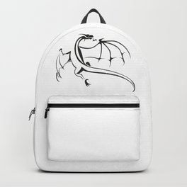A simple flying dragon Backpack