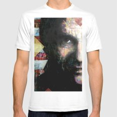 Johnny Cash Mens Fitted Tee White MEDIUM