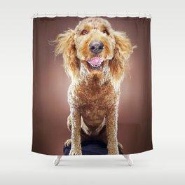 Super Pets Series 1 - Super Misiu Smiles Shower Curtain