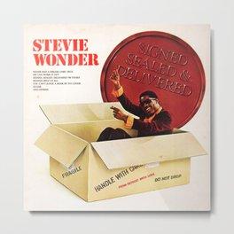 stevie wonder signed sealed 2021 Metal Print