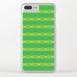 Trampoline II Clear iPhone Case
