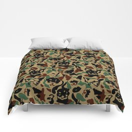 Chihuahua Camouflage Comforters