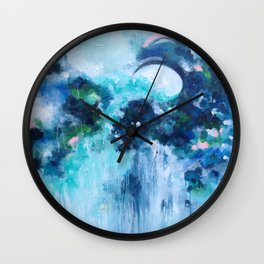 Waves of Light Wall Clock