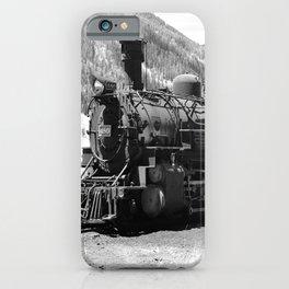 Durango - Silverton Engine 480 iPhone Case