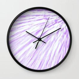 Lavender. Pixel Wind Wall Clock