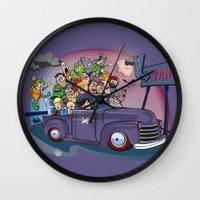 van Wall Clocks featuring Van by manuvila