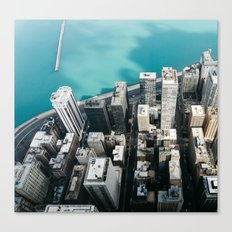 Chicago From Above Canvas Print