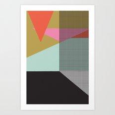 Farbe//One Art Print