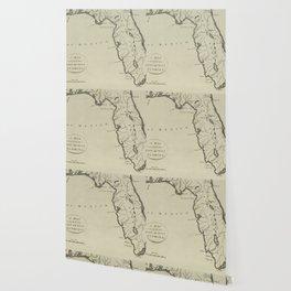 Vintage Map of Florida (1794) Wallpaper