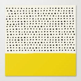 Sunshine x Dots Canvas Print