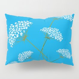 Queen Anne's Lace a Kentucky Wild Flower Pillow Sham