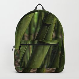 bamboo grove plants green Backpack