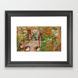 The Interlocking Mechanism of Compartmentalization Framed Art Print