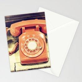 Vintage Phone Stationery Cards