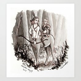 The Protectors of the Forest Art Print