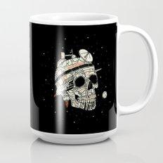 Planet Space Skull  Mug