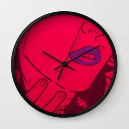 Who's that Girl - Neon Wall Clock