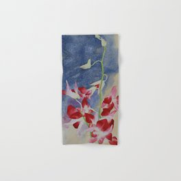 Pink orchids Hand & Bath Towel