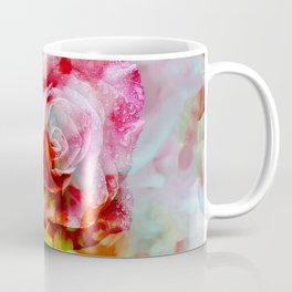 Fall Colored Rose Coffee Mug