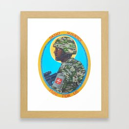 Saint Maurice Framed Art Print
