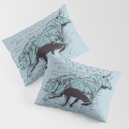 Stock Market Analysis Finance Pillow Sham