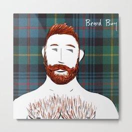 Beard Boy: Finlay Metal Print