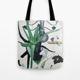 Healing Aloe Flora Spell Tote Bag