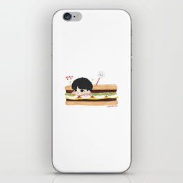 (BTS) EAT JIN // Sticker by cupofmin iPhone Skin