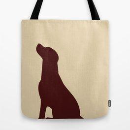 Brown Labrador Retriever Dog Tote Bag