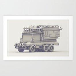 Unimog Art Print